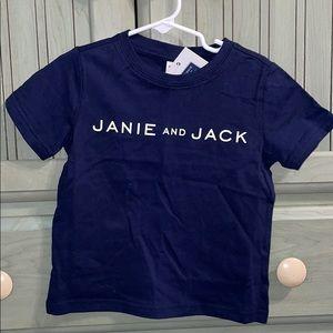 NWT Janie & Jack Tee